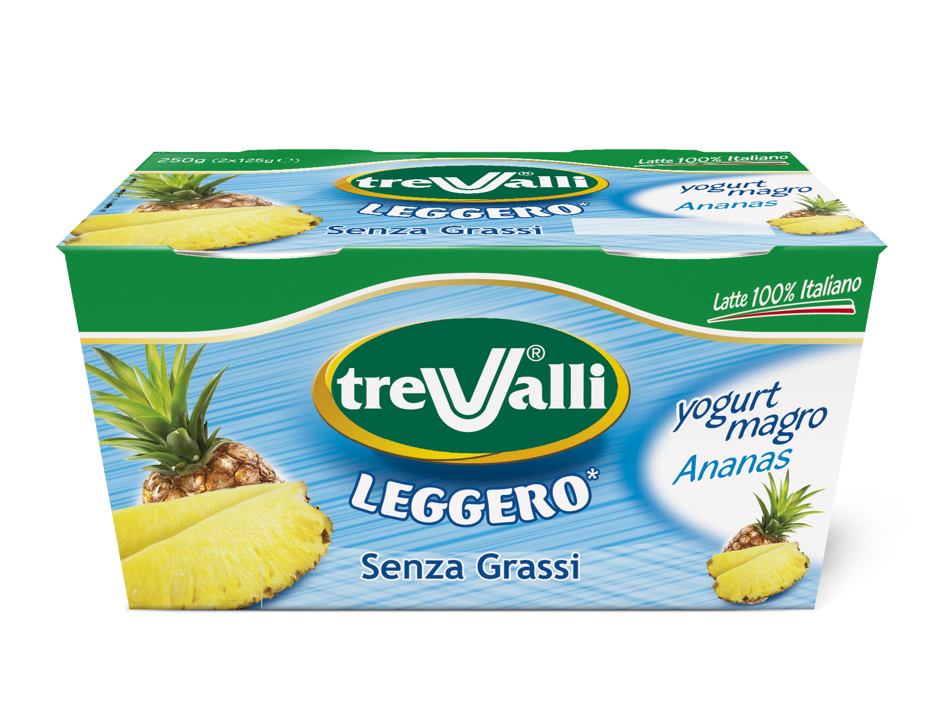 Yogurt Magro all'Ananas Trevalli